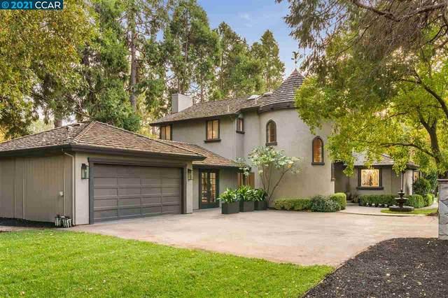 1491 Cedar Ln, Alamo, CA 94507 (#CC40970386) :: The Kulda Real Estate Group