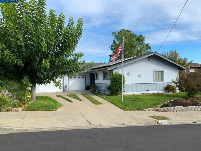 320 Appalachian Way, Martinez, CA 94553 (#CC40971006) :: The Kulda Real Estate Group