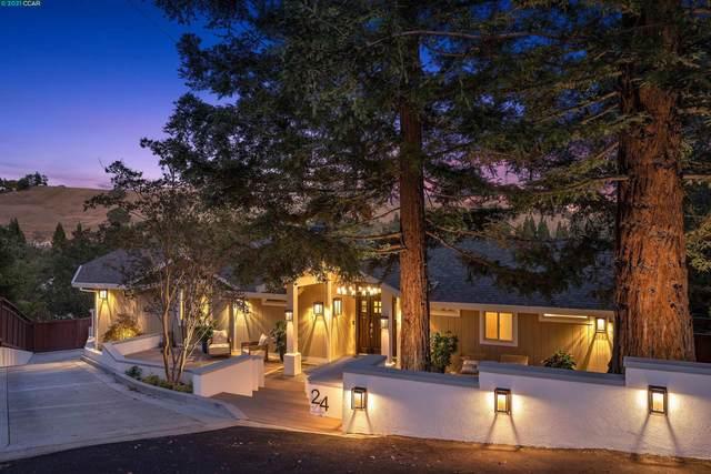 24 Crest Ct, Alamo, CA 94507 (#CC40971196) :: The Kulda Real Estate Group
