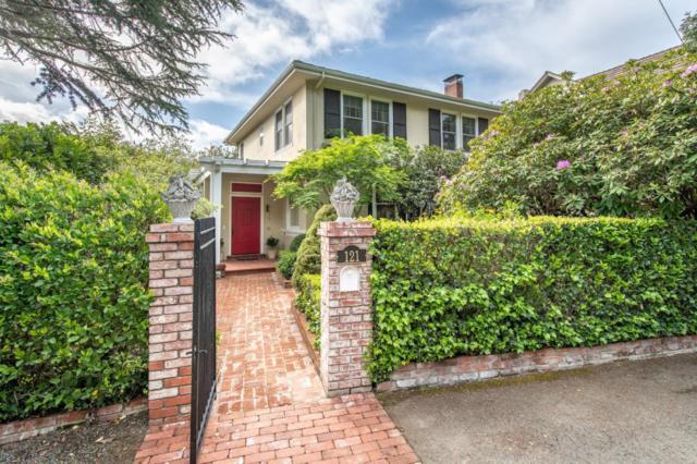 121 Baywood Ave, Hillsborough, CA 94010 (#ML81700309) :: The Kulda Real Estate Group