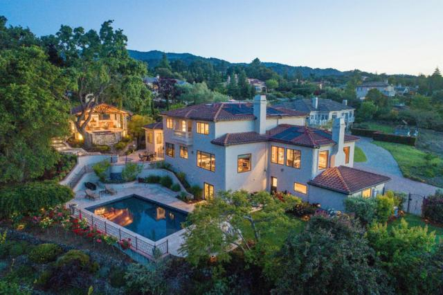 24040 Oak Knoll Cir, Los Altos Hills, CA 94022 (#ML81708935) :: Brett Jennings Real Estate Experts