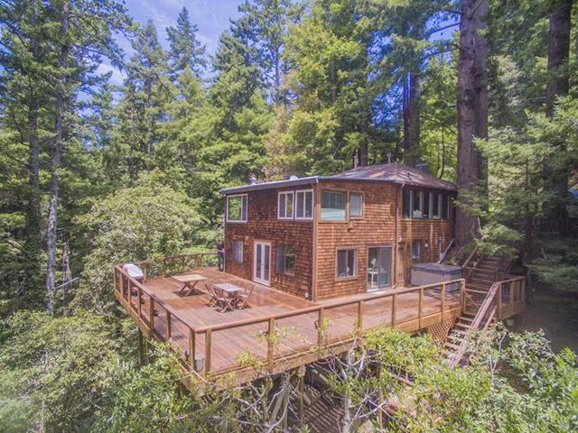 13499 La Honda Rd, Woodside, CA 94062 (#ML81713495) :: The Kulda Real Estate Group