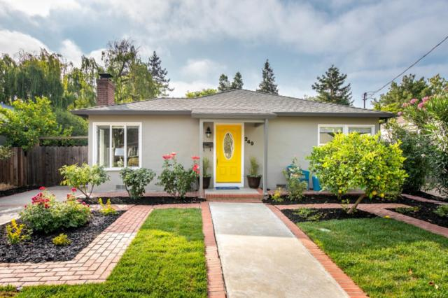 249 Matadero Ave, Palo Alto, CA 94306 (#ML81718952) :: Brett Jennings Real Estate Experts