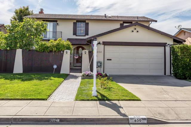 650 Teal St, Foster City, CA 94404 (#ML81723351) :: The Gilmartin Group