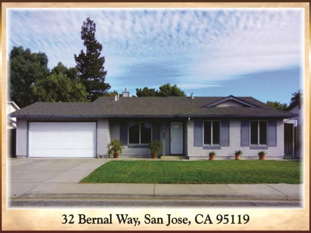 32 Bernal Way, San Jose, CA 95119 (#ML81723728) :: The Gilmartin Group