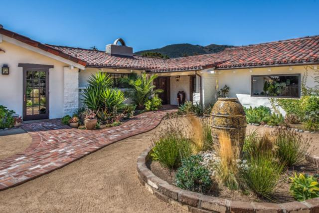 34 Rancho Rd, Carmel Valley, CA 93924 (#ML81725206) :: The Warfel Gardin Group