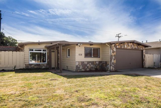 610 Rainier Dr, Salinas, CA 93906 (#ML81725563) :: The Kulda Real Estate Group