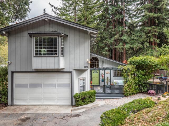 795 San Lorenzo Ave, Felton, CA 95018 (#ML81727178) :: The Kulda Real Estate Group