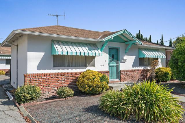 1419 Sierra St, Redwood City, CA 94061 (#ML81730213) :: The Warfel Gardin Group