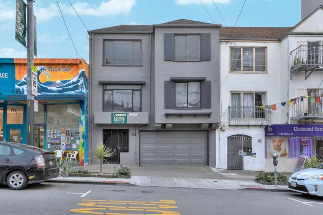 3433 Balboa St, San Francisco, CA 94121 (#ML81731660) :: The Gilmartin Group