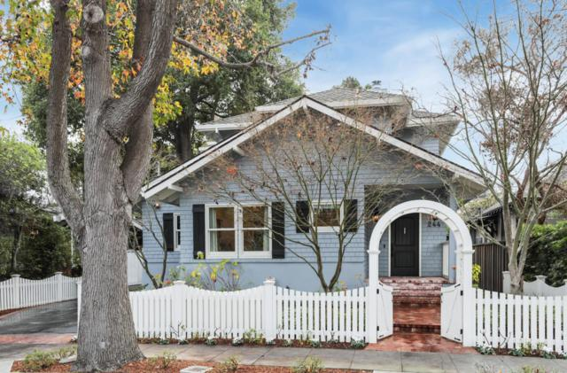244 Byron St, Palo Alto, CA 94301 (#ML81735568) :: RE/MAX Real Estate Services