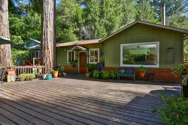 160 Buena Vista Dr, Boulder Creek, CA 95006 (#ML81735947) :: Live Play Silicon Valley