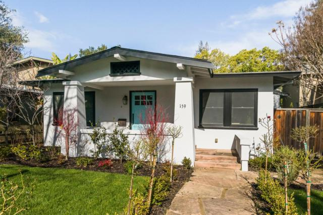 159 Waverley St, Palo Alto, CA 94301 (#ML81738289) :: Strock Real Estate