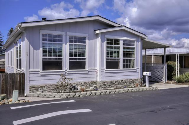 444 Whispering Pines 34, Scotts Valley, CA 95066 (#ML81743162) :: Keller Williams - The Rose Group
