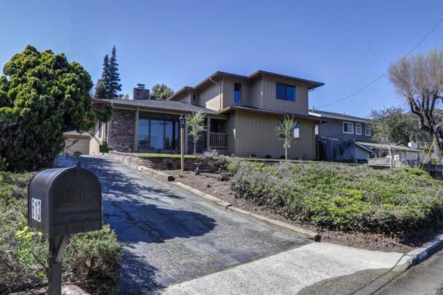 613 Park Way, Santa Cruz, CA 95065 (#ML81743499) :: The Kulda Real Estate Group