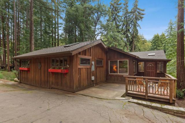 410 Hillside Dr, Boulder Creek, CA 95006 (#ML81743605) :: The Kulda Real Estate Group