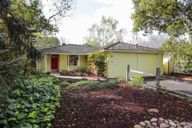 224 Hedge Rd, Menlo Park, CA 94025 (#ML81744945) :: Strock Real Estate