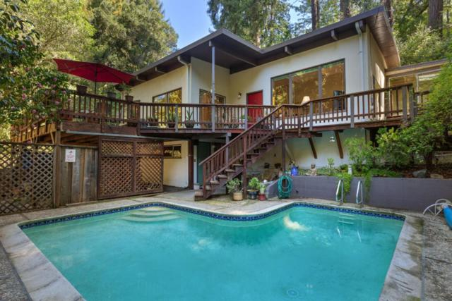 190 Huckleberry Ln, Boulder Creek, CA 95006 (#ML81745525) :: Live Play Silicon Valley