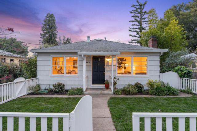 466 Park St, Redwood City, CA 94061 (#ML81745554) :: The Realty Society