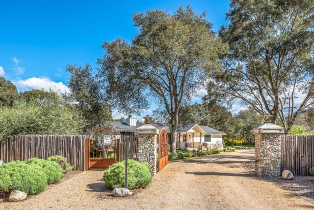 78 Boronda Rd, Carmel Valley, CA 93924 (#ML81745657) :: Strock Real Estate