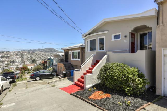 210 Faxon Ave, San Francisco, CA 94112 (#ML81755368) :: Strock Real Estate