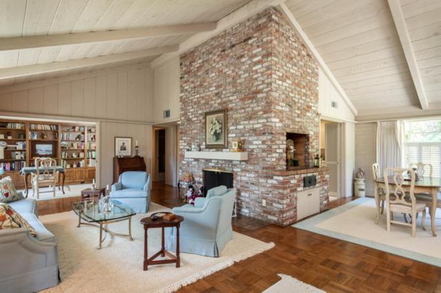 1458 Riata Rd, Pebble Beach, CA 93953 (#ML81756882) :: The Goss Real Estate Group, Keller Williams Bay Area Estates