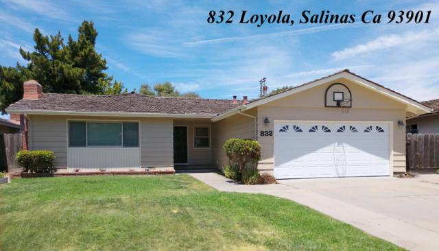 832 Loyola Dr, Salinas, CA 93901 (#ML81761133) :: The Gilmartin Group