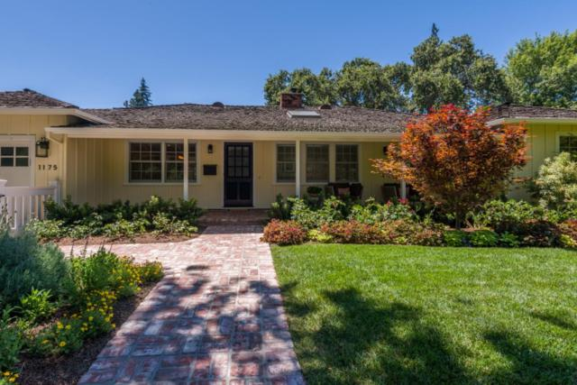 1175 Hermosa Way, Menlo Park, CA 94025 (#ML81764525) :: Strock Real Estate