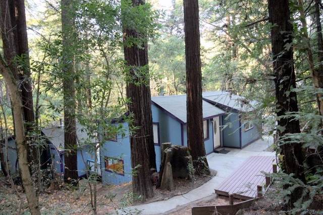 295 Fireside Rd, Boulder Creek, CA 95006 (#ML81776615) :: The Kulda Real Estate Group