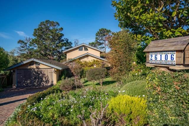 26106 Ladera Dr, Carmel, CA 93923 (#ML81779422) :: The Kulda Real Estate Group