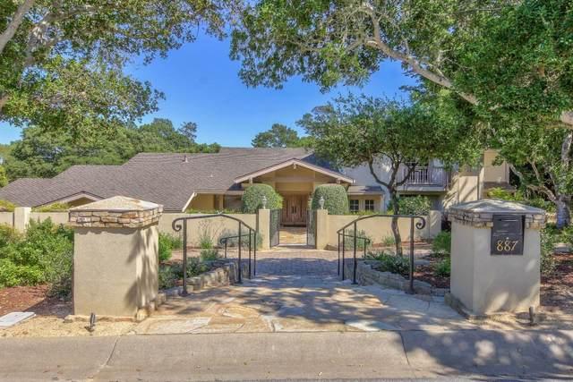 887 Via Mirada, Monterey, CA 93940 (#ML81790984) :: Strock Real Estate