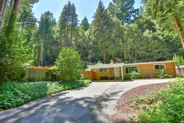 615 Lilac Ave, Boulder Creek, CA 95006 (#ML81792533) :: Strock Real Estate