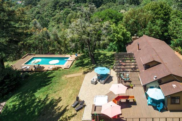 1023 Vine Hill Rd, Santa Cruz, CA 95065 (#ML81793865) :: The Kulda Real Estate Group