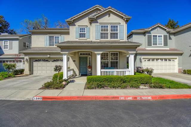 1803 Woodhaven Pl, Mountain View, CA 94041 (#ML81794068) :: The Sean Cooper Real Estate Group