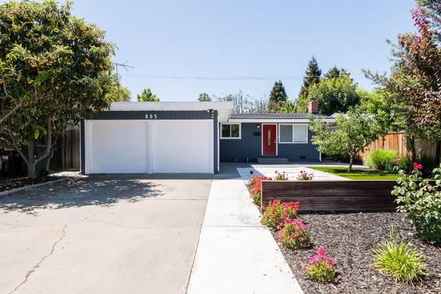 805 S Knickerbocker Dr, Sunnyvale, CA 94087 (#ML81794184) :: The Goss Real Estate Group, Keller Williams Bay Area Estates