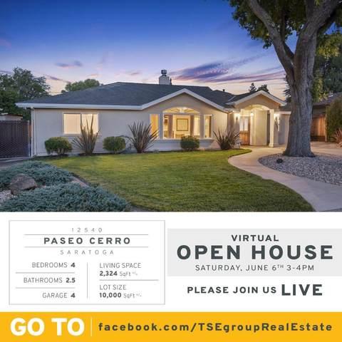 12540 Paseo Cerro, Saratoga, CA 95070 (#ML81795355) :: Live Play Silicon Valley