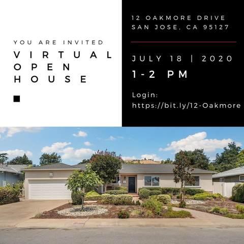 12 Oakmore Dr, San Jose, CA 95127 (#ML81795473) :: The Realty Society