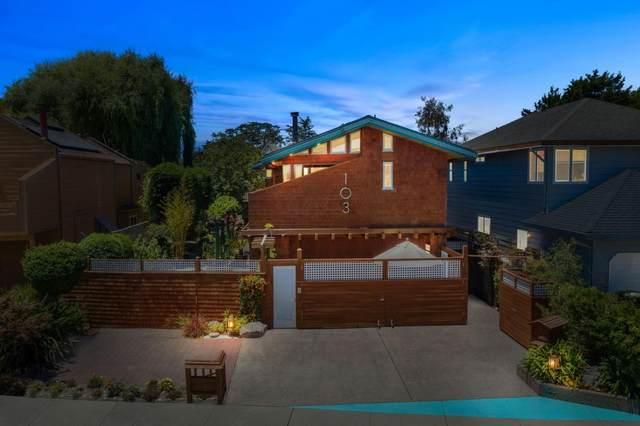 103 Eucalyptus Ave, Santa Cruz, CA 95060 (#ML81797100) :: Strock Real Estate