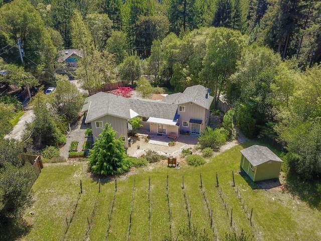 720 Huckleberry Cir, Felton, CA 95018 (#ML81797619) :: Alex Brant Properties