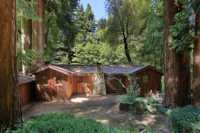 150 Riverside Dr, Boulder Creek, CA 95006 (#ML81799294) :: Alex Brant Properties