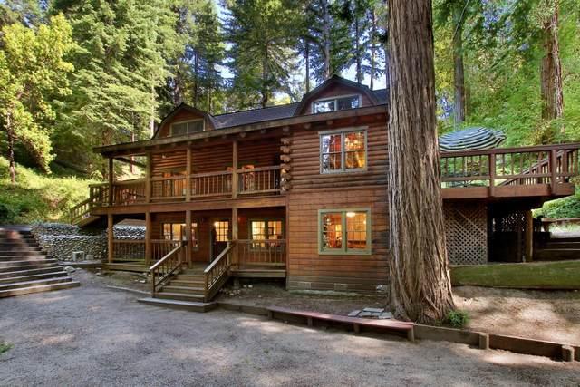 380 Mitchell Dr, Boulder Creek, CA 95006 (#ML81799431) :: Alex Brant Properties