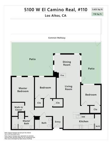 5100 El Camino Real 110, Los Altos, CA 94022 (#ML81801303) :: Intero Real Estate