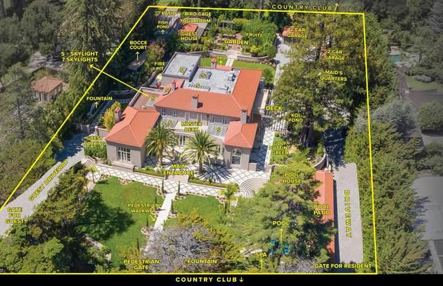 1868 Floribunda Ave, Hillsborough, CA 94010 (#ML81804382) :: The Kulda Real Estate Group
