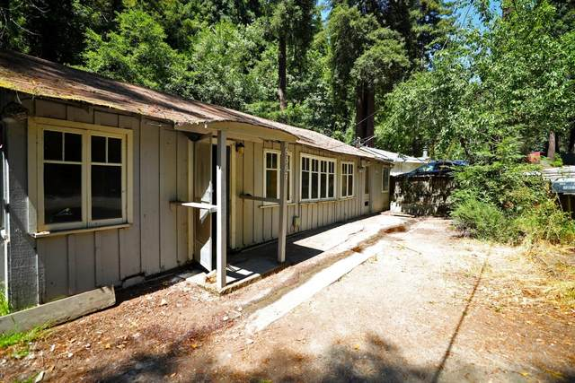 9307 E Zayante Rd, Felton, CA 95018 (#ML81805592) :: The Sean Cooper Real Estate Group