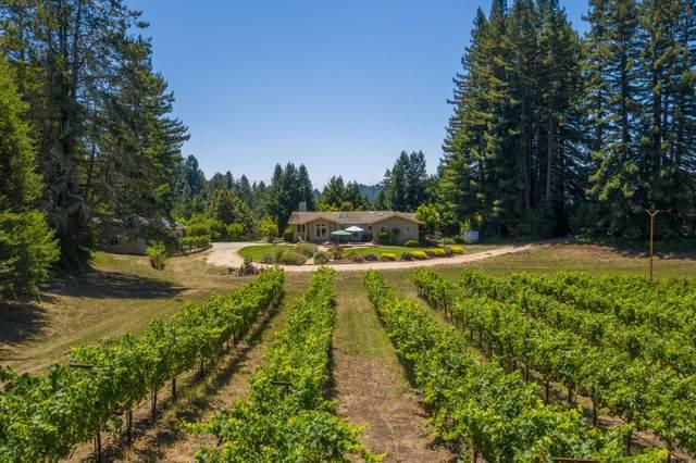 1200 Eureka Canyon Rd, Corralitos, CA 95076 (#ML81806707) :: The Sean Cooper Real Estate Group