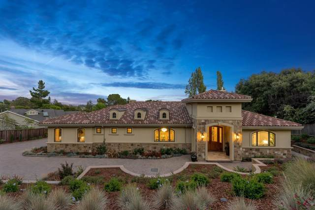 1585 Black Mountain Rd, Hillsborough, CA 94010 (#ML81808985) :: The Kulda Real Estate Group
