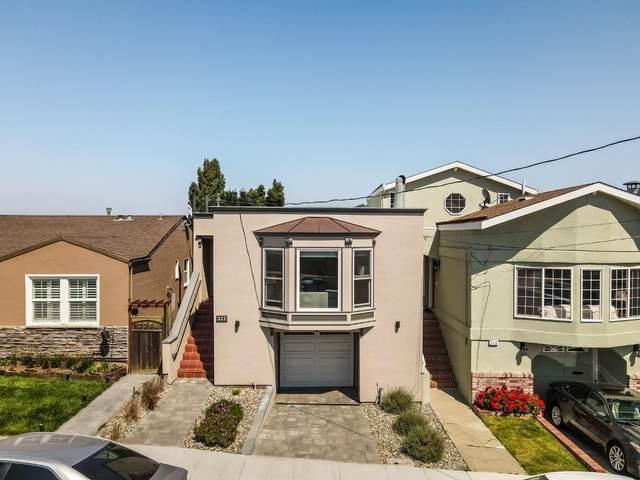 322 Hazel Ave, San Bruno, CA 94066 (#ML81810167) :: The Gilmartin Group