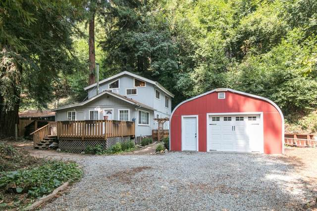 329 Creekside Way, Felton, CA 95018 (#ML81810815) :: The Sean Cooper Real Estate Group
