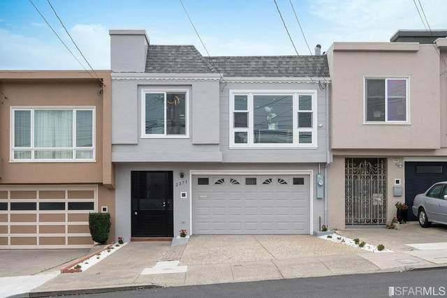2371 39th Ave, San Francisco, CA 94116 (#ML81813292) :: The Realty Society