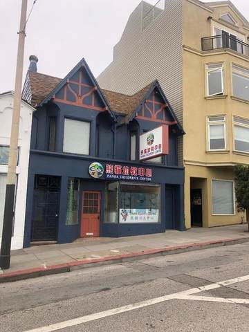 2124-2126 Taraval St, San Francisco, CA 94116 (#ML81815240) :: The Kulda Real Estate Group
